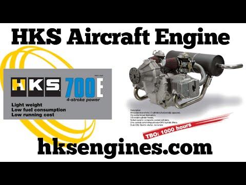 HKS engines, HKS 700E 60hp Aircraft Engine - ASTM Compliant - 1000 Hour TBO!