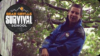 Bear Grylls Survival School: Abseiling Down a Cliff