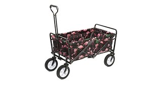 Mac Sports Folding Wagon with Cover