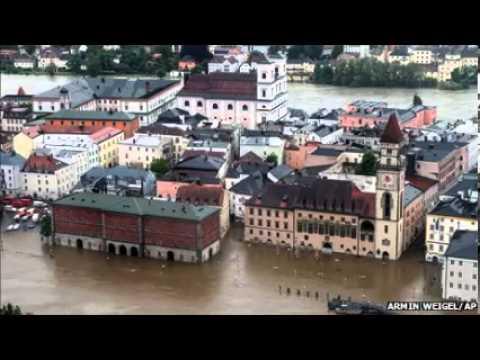 Central Europe on flood alert