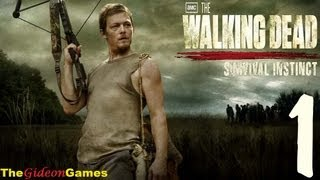 Прохождение The Walking Dead: Survival Instinct - Часть 1 (Побег)