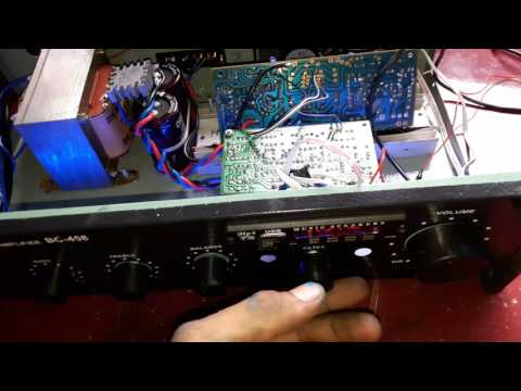 600Watt power amplifier Test + tone subwoofer + music mp3 player (how to make, see elcircuit)