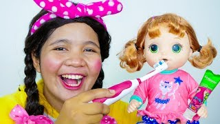 Brush Your Teeth Song Nursery Rhymes for Kids #6
