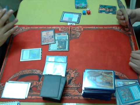 MTG Manila Vintage November 2012: R1 G2 Martello vs Burning Long