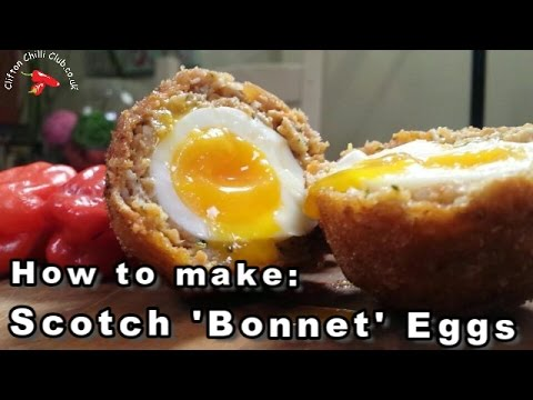SCOTCH BONNET Eggs   How to make   Quick Video Recipe