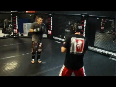 Pro MMA Fighter's hard  sparring Image 1