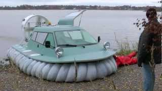 Hovercraft AS-5 testing 2