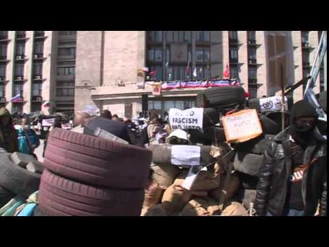 Ukraine crisis:  Kiev reaches out to eastern rebels - 18/04/3014