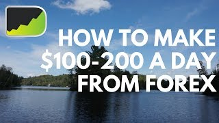 How To Make $100-200 A Day From Forex Trading (Required Account Size)