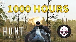 What 1000 Hours of Hunt: Showdown Looks Like