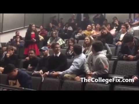 TheCollegeFix.com: UCLA protesters crash Bruin Republicans event