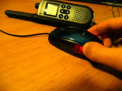 Computer mouse interferes PMR radio