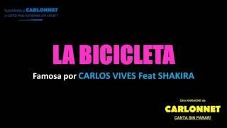 Download Lagu La Bicicleta - Carlos Vives feat Shakira (Karaoke) Gratis STAFABAND