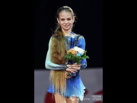 Заход на четверной! Александра Трусова - новая соперница Загитовой и Медведевой