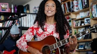 "Corinne Bailey Rae - NPR Music Tiny Desk Concertにて""The Skies Will Break""などを披露 映像を公開 thm Music info Clip"