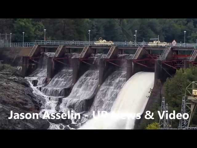 Water Over the Flood Gates - Menominee River