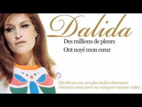 Dalida - Des Millions de Larmes