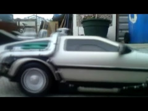 Back To The Future RC DeLorean Toy Review... with a Top Gear twist!