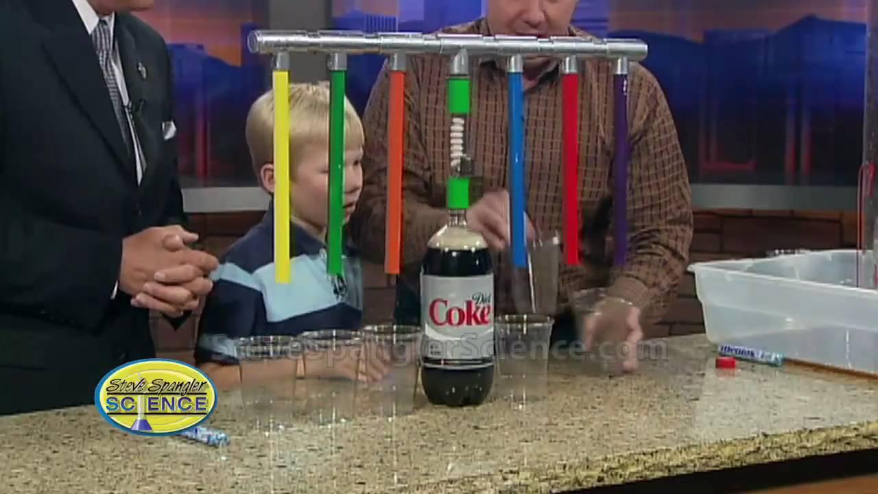 Mentos Geyser Super Soda Dispenser 3000 Youtube
