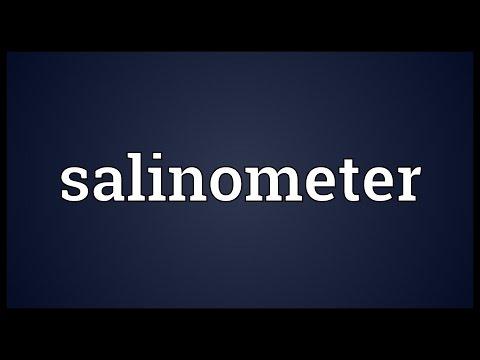 Header of salinometer