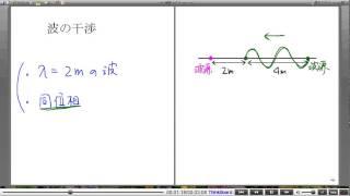 高校物理解説講義:「波の干渉」講義4