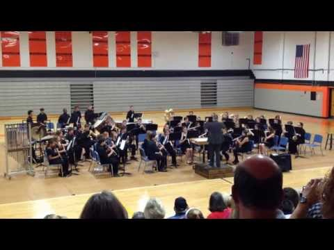 Davie County High School Symphonic Band Fall Concert 2014