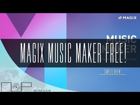 MAGIX Music Maker 2017 Free Edition Review | Best Free DAW?