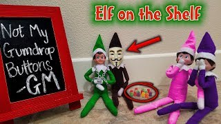 Evil Elf on the Shelf Disguised as Game Master!!! Mad About Gingerbread Man House! GM Day 7