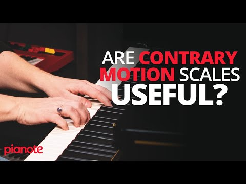 Should You Practice Contrary Motion Scales On The Piano?