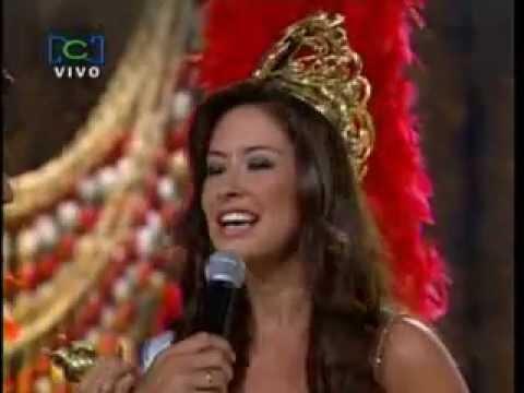 Señorita Colombia 2007 Veredicto Final