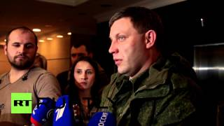 Zakharchenko-Ukraine Run By 'Miserable jews'-Auntie Semitic 'Nazis' on Both Sides, lol-See Below Vid
