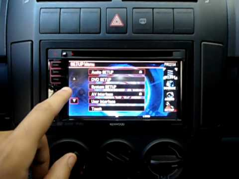 Kenwood Ddx 5032 Vw Polo Youtube