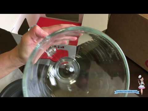 Comprando un KitchenAid 5-Qt. Tilt-Head Glass Bowl ( Recipiente de vidrio para batidora))