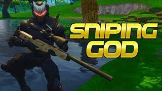 The Fortnite Sniping God