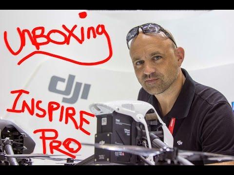 DJI Inspire1 PRO Drone/ UAV Unboxing