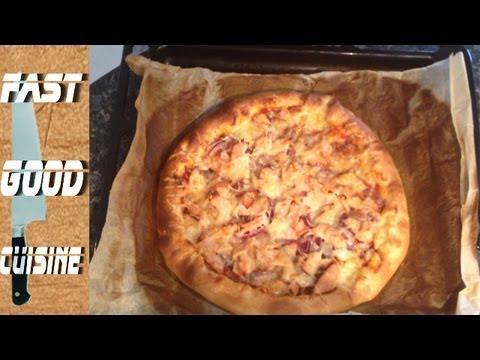 Comment faire la pizza cheesy crust de Pizza hut | FastGoodCuisine