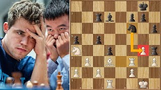 Moment of Truth! | Carlsen vs Ding Liren  | ECCC (2018)