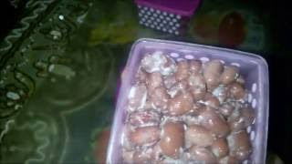 Kidney bean Natto made my way -  step by step instructional video