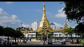 Walking in Yangon (Myanmar)