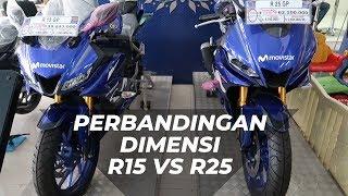 Perbandingan Dimensi R25 vs R15 Moviestar 2019