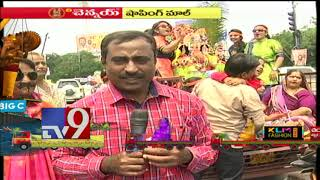 IG Malla Reddy on Ganesh Nimajjanam celebrations at Mozamjahi Market