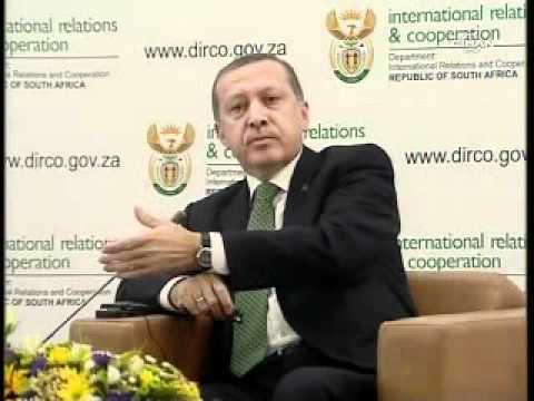 Recep Tayyip Erdoğandan İsrailli Katibe Atom Bom