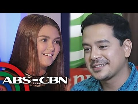"Angelica on her relationship with John Lloyd: ""Masaya lang kami."""