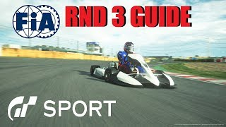 GT Sport FIA RND 3 Track Guide For Nations