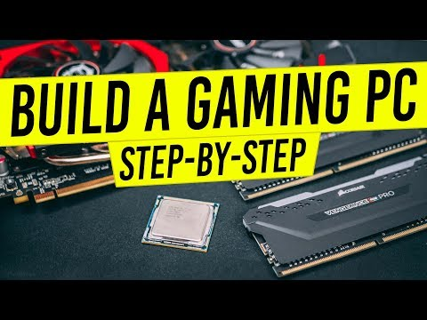 How to Build a Gaming PC 2019 - Build a Computer From Scratch Complete Blueprint!