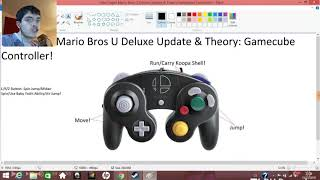 New Super Mario Bros U Deluxe Update & Theory: Gamecube Controller Compatible