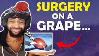 THEY DID SURGERY ON A GRAPE.... | HIGH KILL FUNNY GAME - (Fortnite Battle Royale)