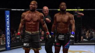 UFC Undisputed 2010 : Rampage vs Evans (UFC 114 Preview) Demo played on Expert Difficulty