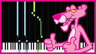 The Pink Panther Theme - Henry Mancini [Piano Tutorial] (Synthesia)