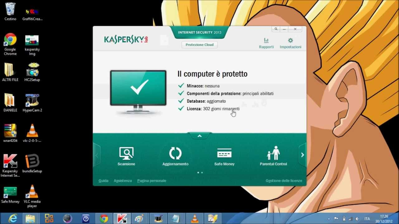 Посмотреть ролик - Kaspersky Internet Security 2013 licenza gratis CRACK.
